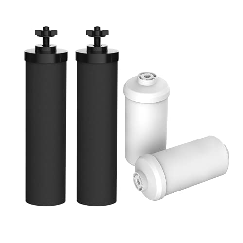 AQUA CREST Water Filter, Compatible with BB9-2 Black Filters & PF-2...