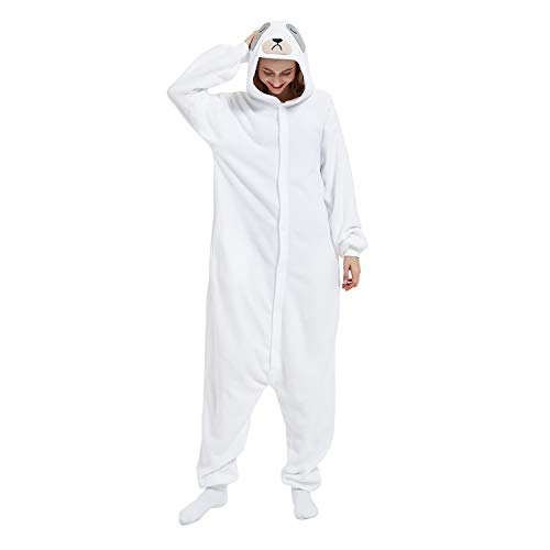 Sloth Onesie Animal Women Men Adult Costume Halloween Cosplay Pajamas Onesies Christmas for Teen