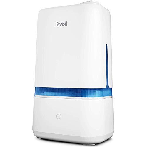 Levoit Humidificador Ultrasónico de Niebla Fría de 4L para Bebés (25 dB), Difusor de Aroma, Funcionamiento Silencioso, Apagado Automático, con 3 Niveles de Niebla, Dura hasta 40 horas, Classic 200