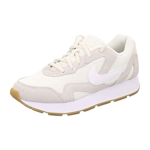 Nike Damen Delfine Leichtathletikschuhe, Mehrfarbig (Pale Ivory/White/Gum Light Brown 000), 40.5 EU