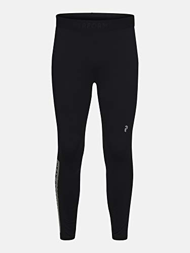 Peak Performance Revel Pants Vêtements De Course Tight Black - White M