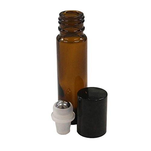 10 ml (1/3 fl oz) Amber Glass Essen…