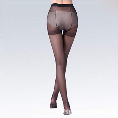 bayrick Pantis Mujer Sexy,Medias de Huevo torcidas Transparentes Ultra Delgadas * 5-Negro_35-50kg