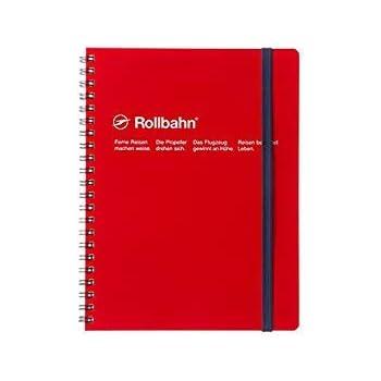 デルフォニックス ロルバーン ポケット付メモ [リング式/切離しミシン目付き] A5 レッド NRP08-RE