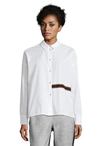 Cartoon Damen 8956/7214 Bluse, Bright White, XL