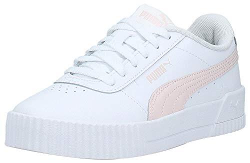 Puma Damen Carina L Niedrig, Weiß White-Rosewater-Rosewater, 40 EU