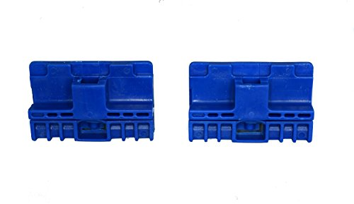 Danci Parts Compatible replacement for Audi A6 Allroad S6 RS6 Avant (C5) Window Regulator Repair Clips (2) - FRONT (Left or Right) PAIR