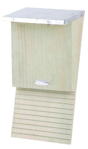 Esschert Design NKVM - Caja para Bate (Madera, 39 x 18 x 17 cm), Color Natural