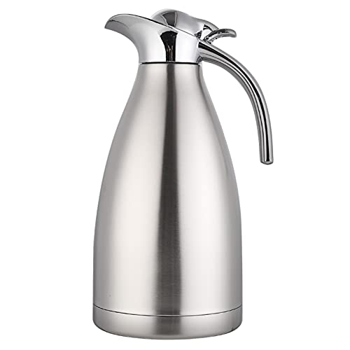 Thermal Coffee Carafe Insulated for Keeping Hot,68Oz/2.0L/8 Cups Stainless Steel Vacuum Thermal Pot for Coffee,Hot Drinks.Beverage Dispenser Pot