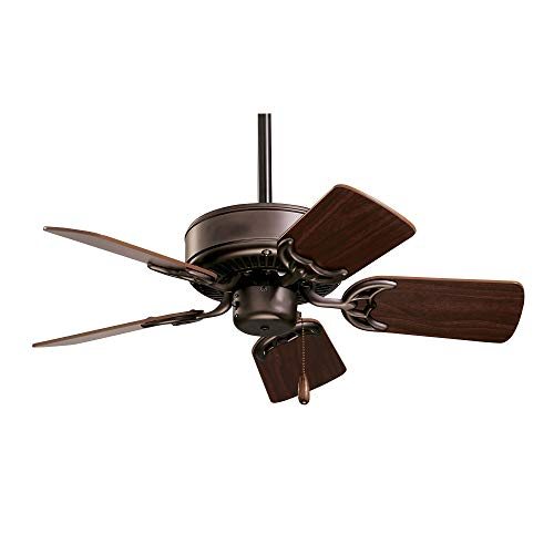 kathy ireland HOME Northwind Indoor Ceiling Fan, 29 Inch | Includes 5 Reversible Blades and 3.5-Inch...