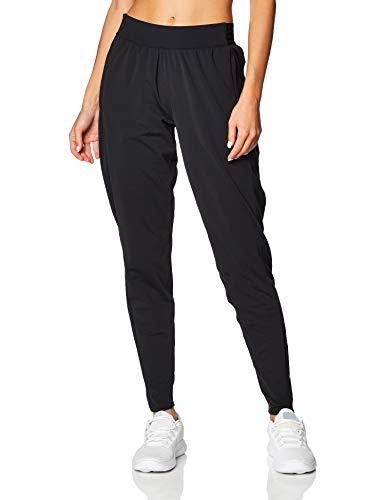 Nike Damen W NK ESSNTL Pant WARM Sport Trousers, Black/(Reflective silv), M