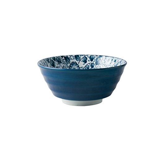 Keramikschale Obst und Gemüse Salatschale Nudel Steak Western Geschirr Besteck Diät Geschirr Wasser Lotus Muster 18x8,5 cm