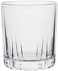 AmazonCommercial Lowball Drinking Glasses Barware Glass Tumbler 11 1 oz Set of 8 product image