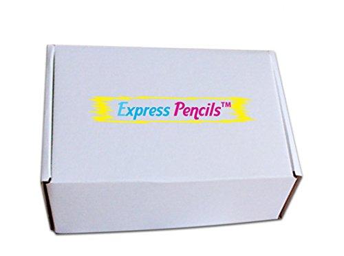 Rainbow Rubberized Soft Touch Ballpoint Pen with Stylus Tip a stylish, premium metal pen, black ink, medium point. Box of 7 (ASSORTMENT)
