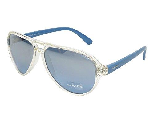 Police Sonnenbrille SPL112M-880X-58 Gafas de sol, Gris (Gr), 58.0 Unisex Adulto
