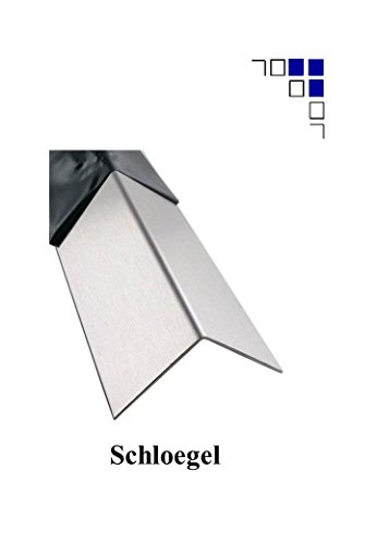 2mm Edelstahlwinkel gleichschenklig 1.4301 Oberfläche gebürstet Länge 1000/1500/2000mm (30x30mm 2000mm Länge)