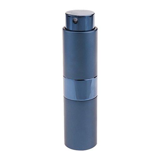 MagiDeal 15ml Atomiseur Bouteille de Parfum Vide Rechargeable Flacon Pompe de Pulvérisation pour Voyage Sac à Main - Bleu