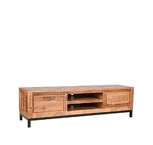 LABEL51 Ghent Tv-meubel - Naturel - Mangohout - 160 cm