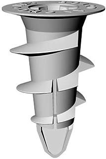 新商品の3DR ボードアンカー ねじ型 100本 材質ナイロンガラス繊維入