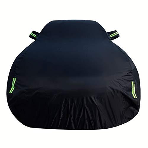 Cubierta del coche compatible con Audi A6L a prueba de viento a prueba de polvo del espesamiento del anticongelante caliente Tienda de campaña Snowproof lluvia del coche de protección solar anti-UV lo