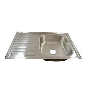 Franke Flat Iron MU Acero inoxidable Acero inoxidable, Acero inoxidable, 1 senos, 500 x 400 mm, 20 cm, 8,89 cm 3.5 Fregadero