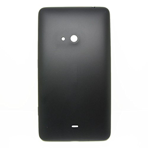 Feicuan Replacement Matte Battery Back Door Cover Case and Screen Protector for Nokia Lumia 625 ( Color Black )