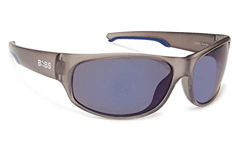Coyote Eyewear Floating Polarized Sunglasses, Crystal Gray