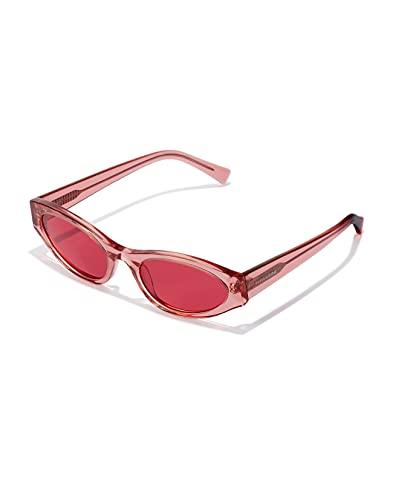 HAWKERS Cindy Pink-Cerise Gafas de Sol, Rosa Transparente, One Size Unisex Adulto