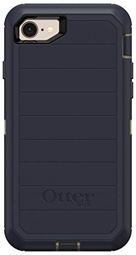 OtterBox Defender Series Rugged Case for iPhone SE (2020), iPhone 8, iPhone 7 (NOT Plus) Case Only - Non-Retail Packaging - Dark Lake (with Microbial Defense)