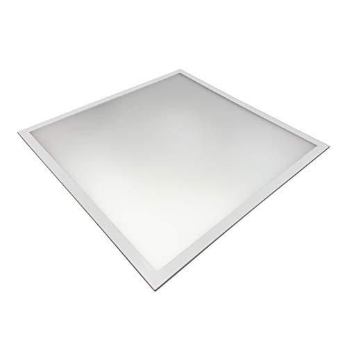 Lichttechnik24® LED Panel UGR<19, 620x620mm, 3600lm ultraslim, 45W, inkl. Netzteil, LED Bürolampe für Odenwalddecke, Rasterleuchten, Deckenleuchte 62x62 [Energieklasse A+] (neutralweiß, 1er Pack)