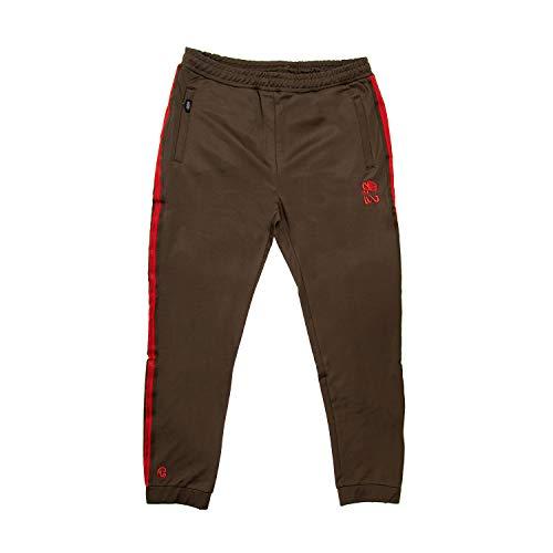 Chabos Herren Trainingshose Ringo, Größe:L, Farbe:Khaki/red