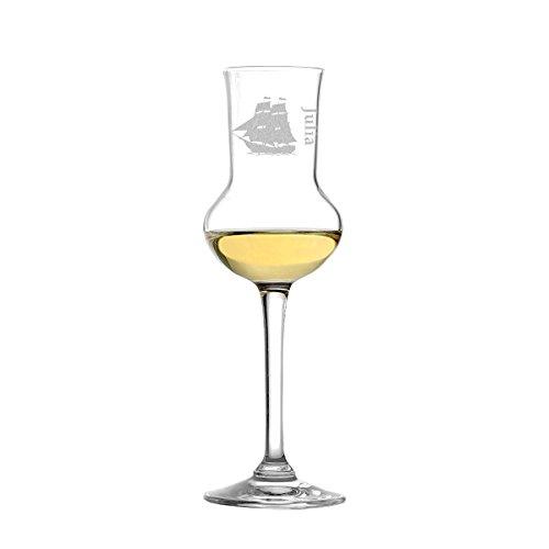 polar-effekt Stölzle Lausitz - Bicchiere da Grappa, 87 ml, in Vetro soffiato con Incisione