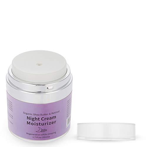 Crema antienvejecimiento Crema facial hidratante de uso nocturno para el cuidado facial para mujeres para el rejuvenecimiento de la piel