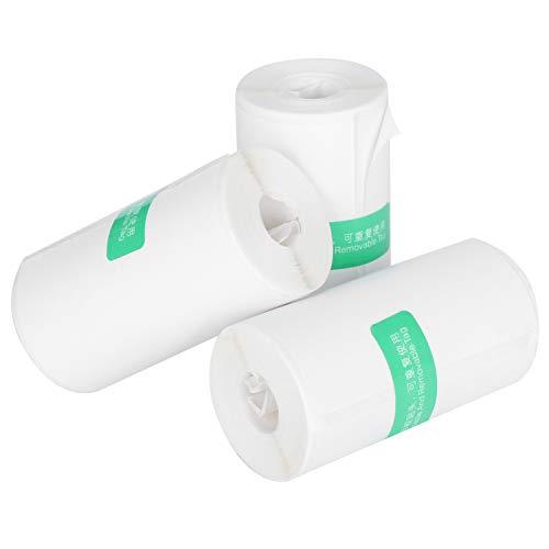 Papel De Impresión, Convenientes Pegatinas De Impresión Térmica Compactas Ampliamente Utilizadas para La Impresión De Texto Y Fotos En Alta Definición