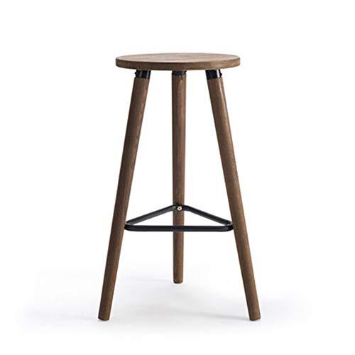Barkruk, draaibaar, barkruk, barkruk, massief hout, industrieel, barstoel, hoge stoel, barkruk, gemaakt van smeedijzer, koolstofkleurig