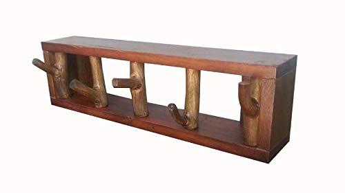 Faunos Schlüsselbrett aus Treibholz 35cm Unikat Handarbeit Ablage Schlüssel Flur Eingang | Massivholz | Holz | Schlüsselbord | Vintage