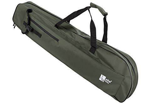 Zite Fishing Rutentasche Angeln 100cm – Ruten-Futteral für Teleskop-Ruten mit Schultergurten & Tragegriffen - Angelruten Tasche Angelkoffer Rod Bag