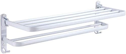 Towel Bars White Painted Max 56% OFF Limited time cheap sale Space Layer Foldable Aluminum Double Mu