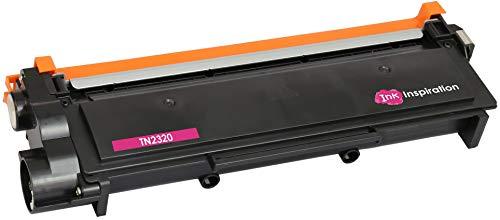 INK INSPIRATION TN2320 Laser Toner Cartridge for Brother HL-L2300D HL-L2340DW HL-L2360DN HL-L2360DW HL-L2365DW DCP-L2500D DCP-L2520DW DCP-L2540DN DCP-L2560DW MFC-L2700DW MFC-L2720DW MFC-L2740DW -  Prestige Cartridge, tn2320onebk