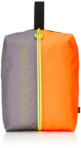 [ニューバランス ゴルフ] ゴルフ用シューズケース (オックスファブリック) / 012-0984015 / バッグ 靴 ゴルフ 153_オレンジ