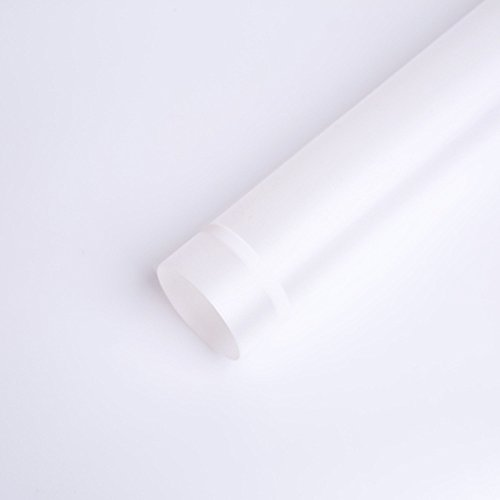 Translucent Waterproof Flower Wrapping Paper Florist Bouquet Packaging 20 Sheets 23.623.6 Inch (White)