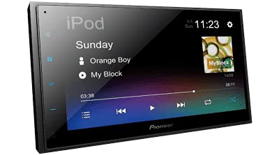 Pioneer Car Stereo Capacitive Touch Screen Media Reciever with Android Auto & Apple Car Play - DMH A345BT