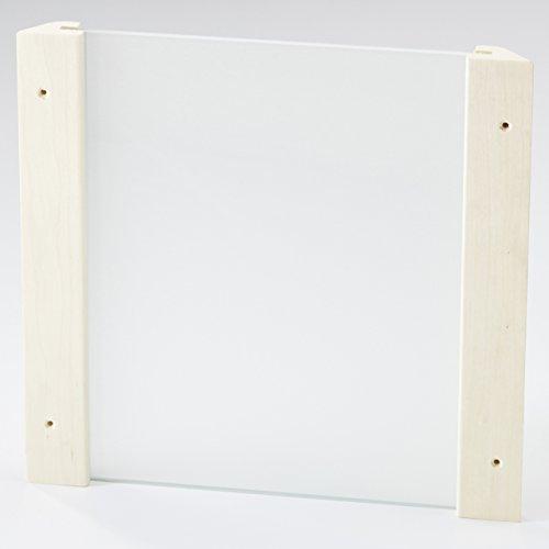 Preisvergleich Produktbild Unbekannt Infraworld Eckblendschirm Design Espe Mini ESG Glas Saunazubehör S2281