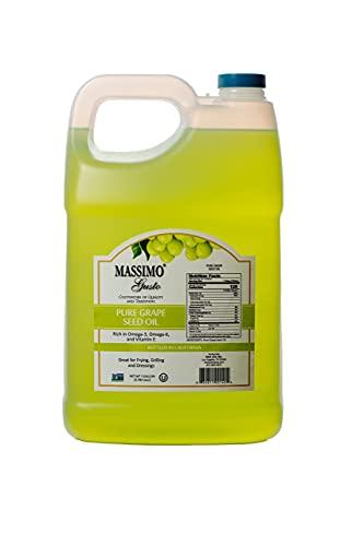 Massimo Gusto - Grape Seed Oil - 1 Gallon