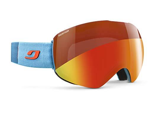 Julbo SKYDOME Skibrille, Cyan Blue/Orange, XXL
