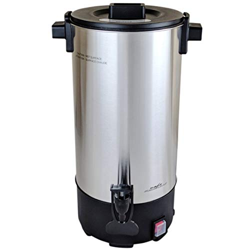 Cafe Amoroso 45 Cup Stainless Steel Commercial Electric Coffee Maker Urn