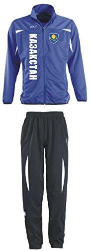 Aprom-Sports KASACHSTAN Trainingsanzug - Sportanzug - S-XXL - Fußball Fitness (M)