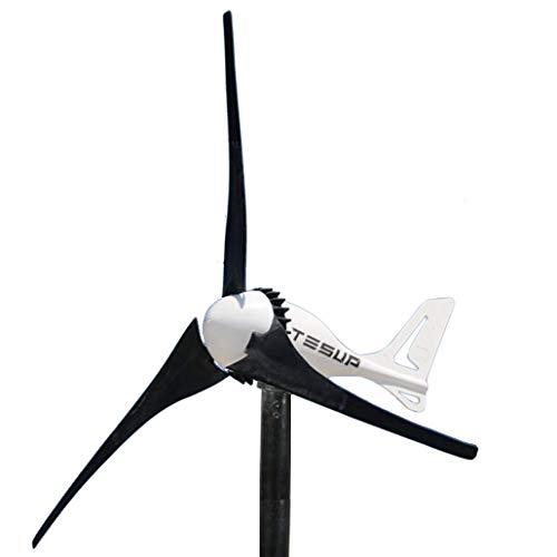 TESUP Turbina de viento 24V i-500 Kit - Hecho en Europa // TESUP i500-24+CC+MP