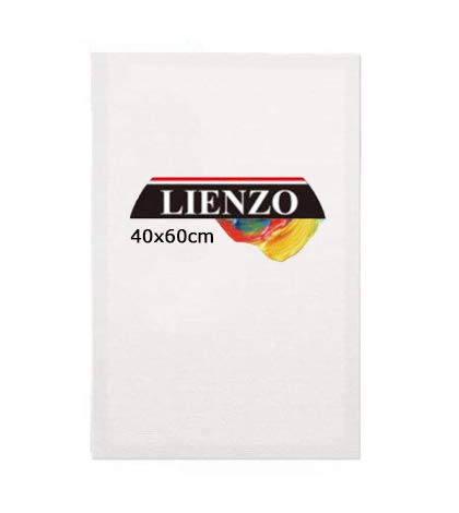 Lienzos para pintar 50x70cm   Apto óleo, acrílico o técnica mixta Pre-estirado 100% algodón 380grs/ Perfil 35mm (40 x 60 cm)
