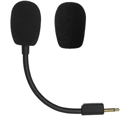 Replacement Game Microphone Fit for Razer Blackshark V2 / V2 Pro / V2 Special Edition Wireless Gaming Headsets,Detachable Noise Canceling 3.5mm Jack Boom Microphone